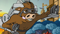Cow's Jetpack Adventures