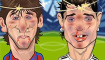 Slapathon Ronaldo Vs Messi