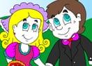 Wedding Couple Coloring