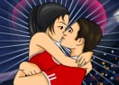 Soccer Kissing