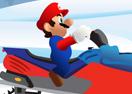 Mario Snowmobile