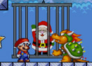 Super Mario Save Santa