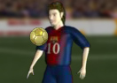 Messi and His 4 Ballon d'Ors