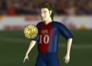 Messi and his 4 Ballon d'Orcs