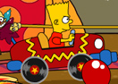 The Simpsons Krusty Circus Car Ride