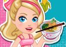 Chef Barbie Chicken Ramen