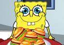 SpongeBob Love Hamburger