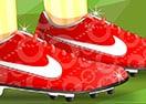 Fan Shoe Decor
