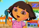 Dora at Menagerie Dressup