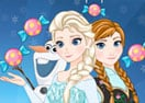 Frozen Elsa Find Candy