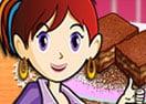 Brownie de Caramelo: Aula de Culinária da Sara
