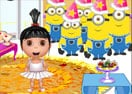 Agnes's Birthday Decoration Room