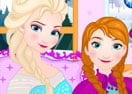 Frozen Elsa Washing Clothes for Anna