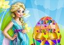Jogo Pregnant Elsa Easter Eggs