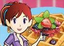Waffles Torradas Francesas: Aula de Culinária da Sara