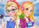 Elsa & Rapunzel: College Girls