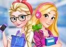 Elsa & Rapunzel: College Girls