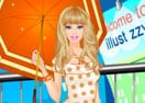 Barbie In The Rain Dress Up