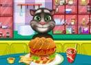 Baby Tom Cooking Hamburger