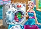 Dia de Lavar Roupas com Elsa