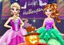 Festa de Halloween em Frozen