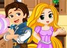 Cozinha Bagunçada da Rapunzel