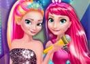 Elsa e Anna em Rock Real