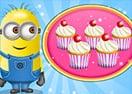 Cozinhando Cupcakes de Chocolate com os Minions