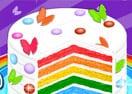 Bolo de Aniversário Arco-Iris