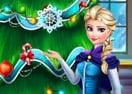 Decore a Árvore de Natal de Frozen