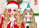 Roupas de Natal para Elsa