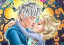 Beijo da Elsa de Frozen