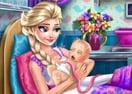 Cuidando do Nascimento do Bebê Elsa