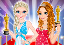Irmãs Frozen Estrelas de Cinema