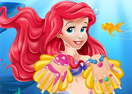 The Little Mermaid Ariel Nails Salon