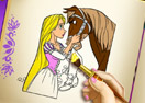 Rapunzel Coloring Book