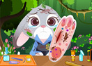 Zootopia Judy Foot