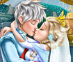 Ice Queen Wedding Kiss