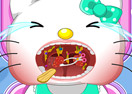 Hello Kitty Tonsil Surgery