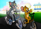 Tom and Jerry BMX Race