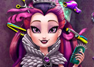 Jogo Dark Queen Real Haircuts Online Gratis