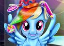 Rainbow Pony Real Haircuts