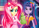 Equestria Girls First Day at School