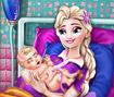 Pregnant Elsa Baby Birth