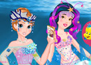 Mermaid Princesses