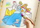 Jogo Princesses Coloring Book