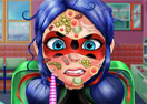 Jogo Ladybug Face Skin Surgery Online Gratis