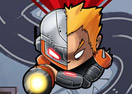 Jogo On-line Tower Defense: Super Heroes