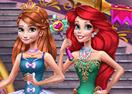 Anna & Ariel  Princess Ball Dress Up