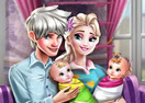 Jogo Ice Queen Twins Family Day
